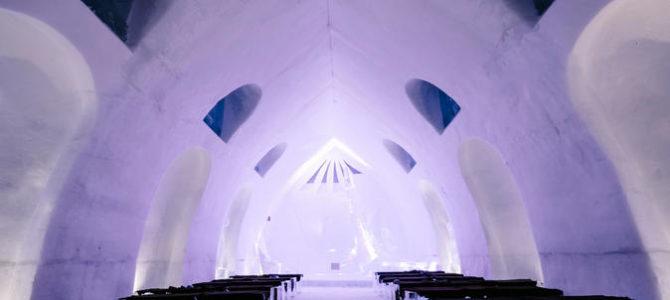 Hôtel de Glace (Ice Hotel) Offers Fascinating Art and Winter Splendor
