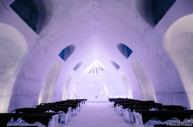 Hôtel de Glace (Ice Hotel) Offers Fascinating Art and Winter Splendor