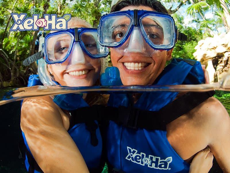 Discover Xel-Há Park and enjoy hundreds of tropical fish, birds, reptiles and abundant flora