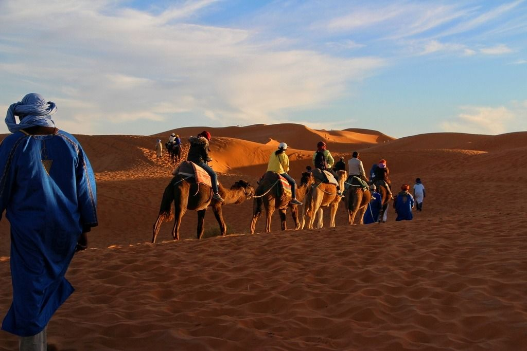 Moroccan Overnight Stay and Camel Ride in the Vast Sahara Desert
